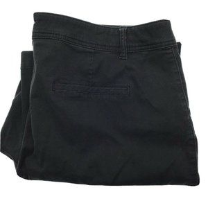 Maurices Black Chino Pants Size 22W